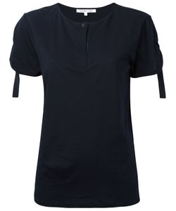 Helmut Lang | Ruched Sleeve T-Shirt
