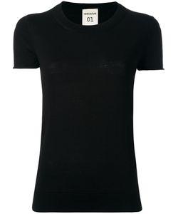 Semicouture   Alton Knitted T-Shirt Xl Cotton