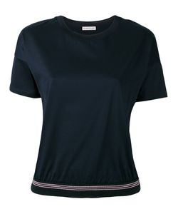 Moncler | Ribbed Hem T-Shirt Size Large