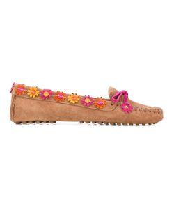 Carshoe   Car Shoe Appliqué Loafers