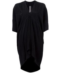 Rick Owens   Draped Mini Dress 44 Acetate/Silk