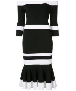 Jonathan Simkhai   Off-Shoulders Fitted Dress Size Medium