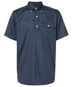 Engineered Garments   Рубашка С Короткими Рукавами В Горох