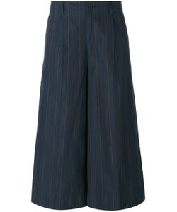 08SIRCUS | Striped Cropped Trousers