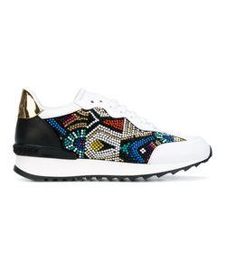 Casadei   Embellished Sneakers