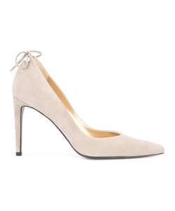 Stuart Weitzman | Peekabow Pumps 7 Suede/Leather