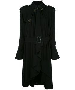 ROSSELLA JARDINI | Draped Trench Coat 44 Viscose/Spandex/Elastane