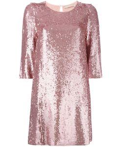 Amen   Sequins Embellished Shift Dress Size 42