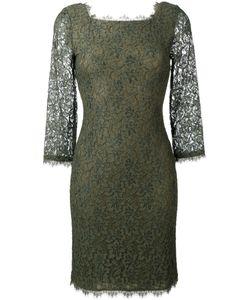 Diane Von Furstenberg | Lace Fitted Dress Size 6