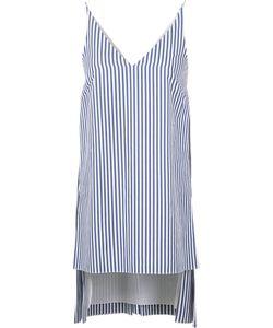 Adam Lippes   Striped Deep V-Neck Tunic 2 Cotton