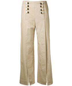 Kotohayokozawa | High Waist Wide Leg Trousers