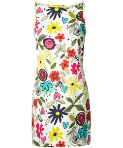 Trina Turk | Print Shift Dress 4 Cotton/Modal/Spandex/Elastane/Spandex/Elastane