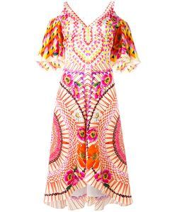 Temperley London | Print Dress 8 Silk/Spandex/Elastane
