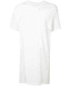 JULIUS | Sheer Panel T-Shirt 3 Cotton