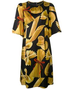 Dolce & Gabbana | Pasta Print Shift Dress