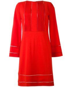 Piazza Sempione | Платье С Мелкими Складками И Ажурной Отделкой