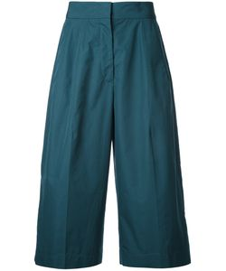 Jil Sander | Cropped Trousers 34 Cotton