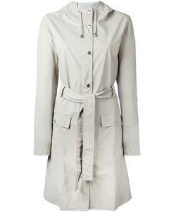 Rains | Zip-Up Coat Xs