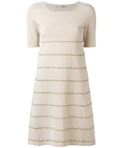 D.exterior | Embroidered Trim Dress