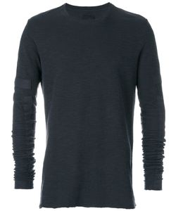 THOM KROM | Embellished Sleeve Sweater Men