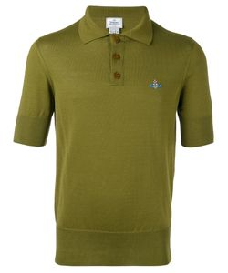 Vivienne Westwood | Man Embroidered Logo Polo Shirt Size Xl