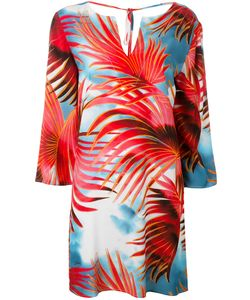 Just Cavalli | Palm Print Dress Size 40