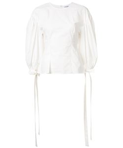 REJINA PYO | Balloon Sleeves Blouse 8 Cotton/Polyurethane