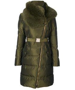 Versace Collection | Пальто С Высоким Воротом И Поясом