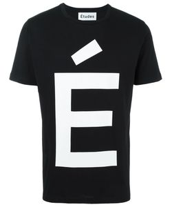 ÉTUDES | Page Accent T-Shirt Large Cotton