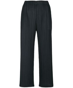 PLEATS PLEASE BY ISSEY MIYAKE | Cropped Pleated Trousers