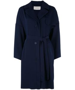 Cedric Charlier | Cédric Charlier Double Breasted Coat Small Polyester