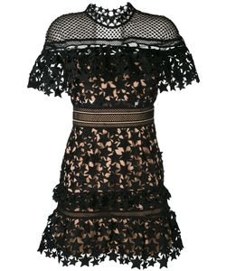SELF-PORTRAIT   Lace-Embroidered Dress 10