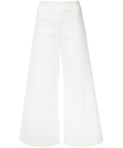 Adam Lippes | Cropped Denim Trousers 0 Cotton