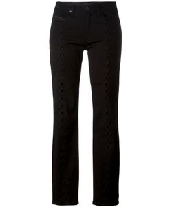 Diesel Black Gold | Perforated Detail Skinny Jeans 26 Cotton/Spandex/Elastane