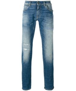 Dolce & Gabbana | Distressed Front Jeans