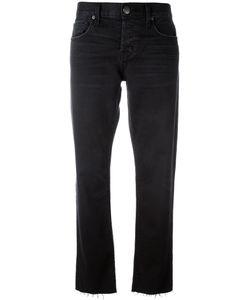 Current/Elliott | Cropped Straight Jeans 26 Cotton/Spandex/Elastane