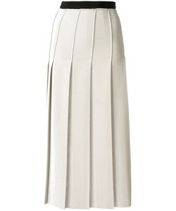 Aviù | Pleated Midi Skirt Women 40