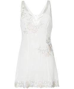 La Perla | Embroidered Slip Top