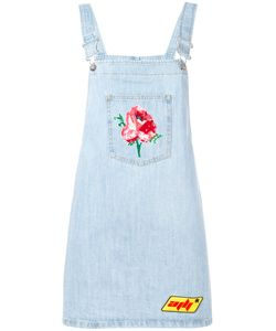 Au Jour Le Jour | Denim Dungaree Dress 42