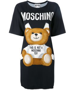 Moschino | Paper Toy Bear T-Shirt Dress 40 Viscose/Other