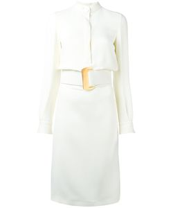 Tom Ford | Buckled Belt Midi Dress 38 Silk