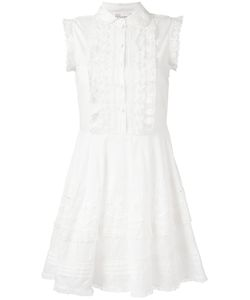 Red Valentino | Lace-Trim And Broderie Dress