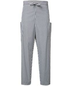 Maison Rabih Kayrouz | Striped Trousers 38 Cotton