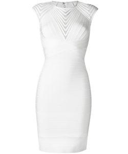 Hervé Léger | Deanna Dress Small Rayon/Nylon/Spandex/Elastane/Polyester