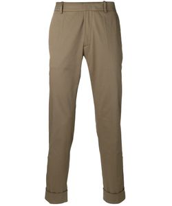 Antonio Marras | Straight Trousers 50 Cotton/Spandex/Elastane