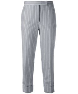 Thom Browne | Pinstripe Cropped Trousers Size