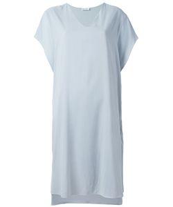 Brunello Cucinelli | Relaxed T-Shirt Dress Large Silk/Spandex/Elastane