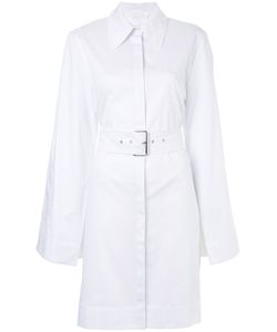 Solace | Slim-Fit Belted Shirt Dress Women