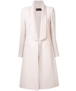 Brandon Maxwell   Fitted Open-Front Coat Size 8