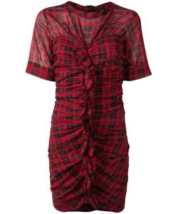 Isabel Marant Étoile | Checked Dress 42 Cotton/Linen/Flax